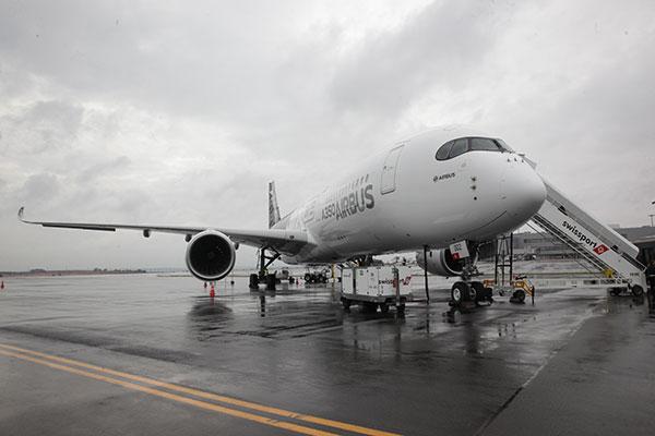 Airbus A350XWB - foto: Álvaro Jr.