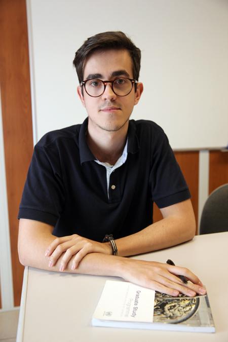 Engenheiro Ambiental e Mestrando do Programa de Pós-Graduação em Sistemas de Infraestrutura Urbana da PUC-Campinas, Fernando Henrique Silva Ribeiro