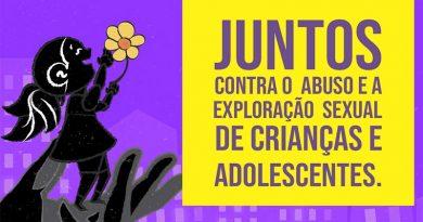 Ação mobiliza população para o combate à violência sexual contra crianças e adolescentes