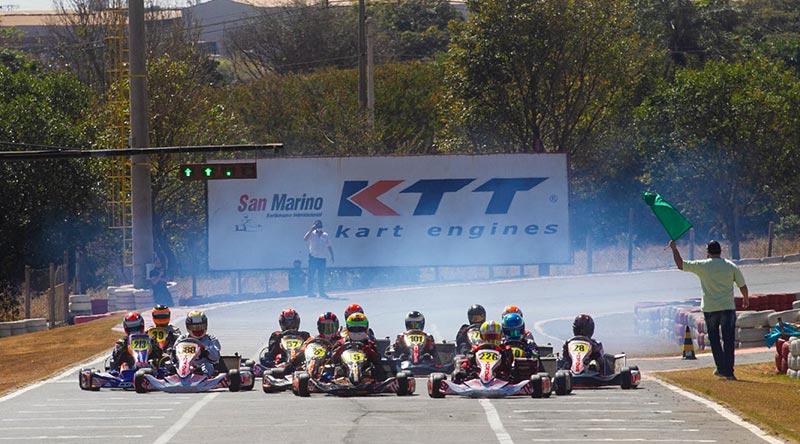 Copa F-Racers 2020 de Kart terá etapa noturna inédita nesta sexta-feira, em Paulínia