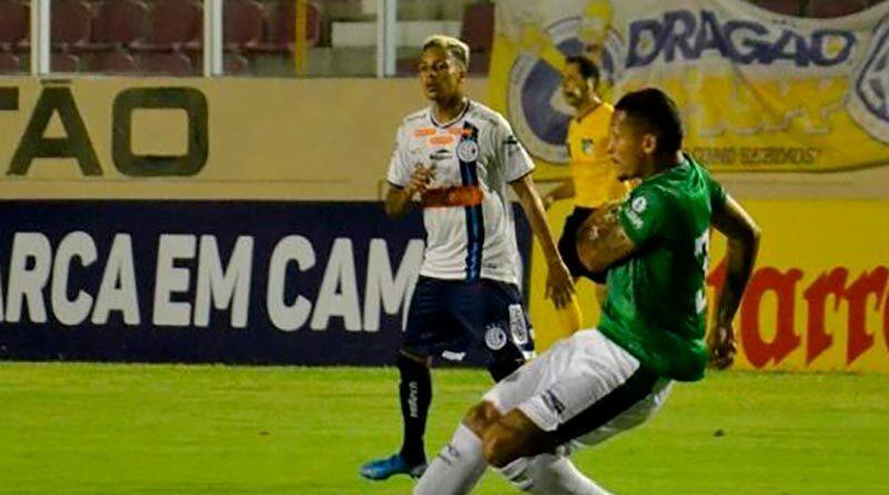 Guarani é superado pelo Confiança e amarga a sexta derrota na série B