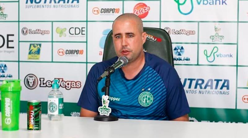 Caiu! Ricardo Catalá deixa o comando técnico do Guarani