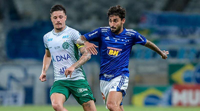 Em grande jogo, Cruzeiro e Guarani empatam no Mineirão pela série B