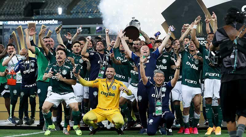 América Verde! Palmeiras vence o Santos e conquista o Bi da Libertadores