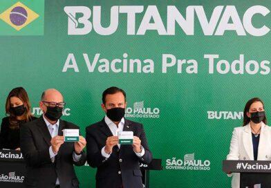 Butantan começa a produzir o primeiro lote de 18 milhões de doses da Butanvac, a vacina com produção totalmente nacional contra a COVID-19