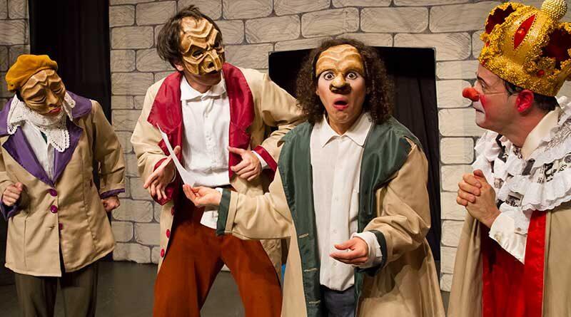 """Barracão Teatro se transporta da sala do teatro para a sala da sua casa com o """"Zabobrim, o Rei Vagabundo"""""""
